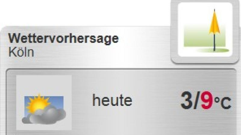 Neben dem Orte-Widget gibt es auch das Karten- und Design-Widget-Wetter fr Ihre Homepage