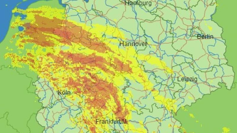 Regen & Gewitter live verfolgen
