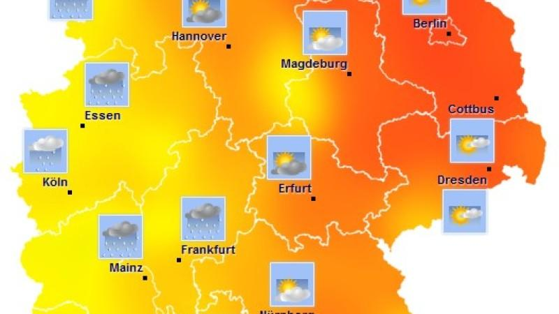 Die aktuellen Werte, Winddaten und Wetterzustnde