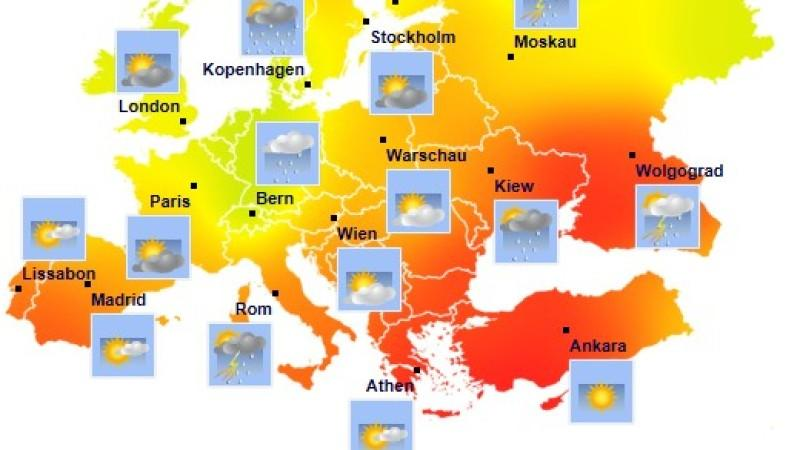 Wo steckt der Sommer in Europa?